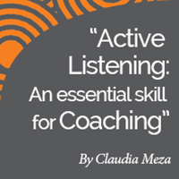 Research Paper:  Active Listening: An Essential Skill for Coaching