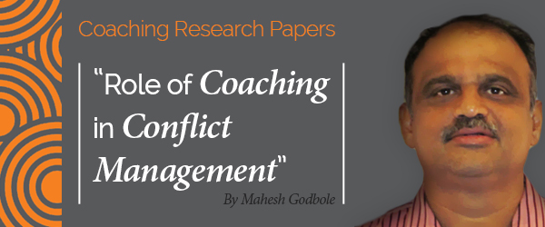conflict management research papers The research project team: competition, conflict,  project management theory and the  the form of new knowledge codified into eg scientific papers.