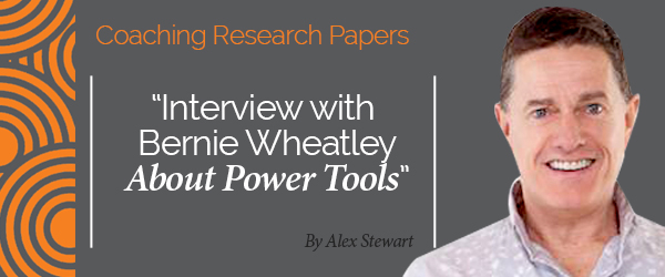 Alex Stewart Research Paper Interview with Bernie Wheatley About Power Tools thumbnail