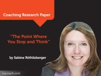 Research Paper: The Point Where You Stop and Think