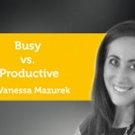 Power Tool: Busy vs. Productive
