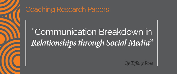 social communication research paper