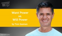 Power Tool: Want Power vs. Will Power