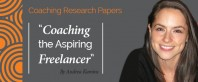 Research Paper: Declaration of Independence: Coaching the Aspiring Freelancer