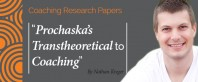 Research Paper: Prochaska's Transtheoretical Model of Change and Its Application to Coaching