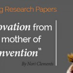 Research Paper: Innovation is the Mother of Me-Invention