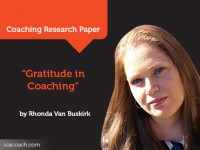 Research Paper: Gratitude in Coaching: An Invitation for a Deeper Exploration