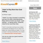 Coach Express Newsletter March 2013