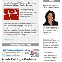 CoachExpress Newsletter May 2013
