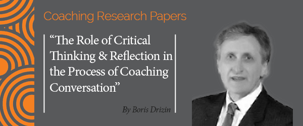 a reflection on coaching essay Coaching for teachers – strengthening teacher's professional practice and wellbeing how do i write a good personal reflection first it is useful to clarify.
