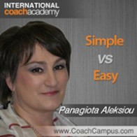 Panagiota Aleksiou Power Tool Simple vs Easy