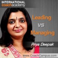 Priya Deepak Power Tool Leading vs Managing