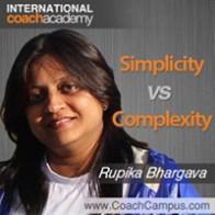 Rupika Bhargava Power Tool Simplicity vs Complexity