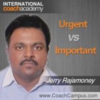 Jerry Rajamoney Power Tool Urgent vs Important