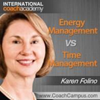 Karen Folino Power Tool Energy Management vs Time Management