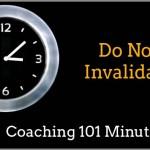 Do Not Invalidate