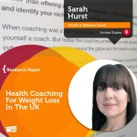 Research Paper: Health Coaching For Weight Loss In The UK