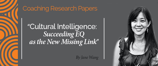 Research Paper: Cultural Intelligence: Succeeding EQ as ...