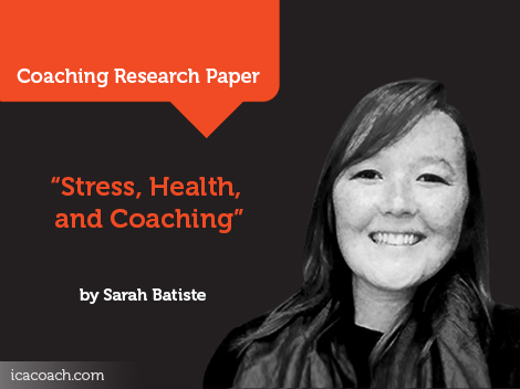 research paper on stress and health