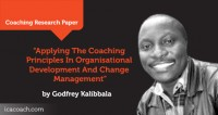 Research Paper: Applying The Coaching Principles In Organisational Development And Change Management