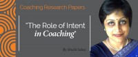Research Paper: The Role of Intent in Coaching