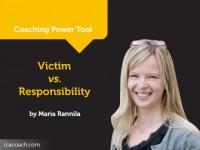 Power Tool: Victim vs. Responsibility