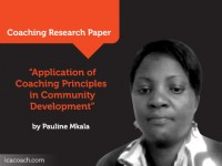 Research Paper: Application of Coaching Principles in Community Development