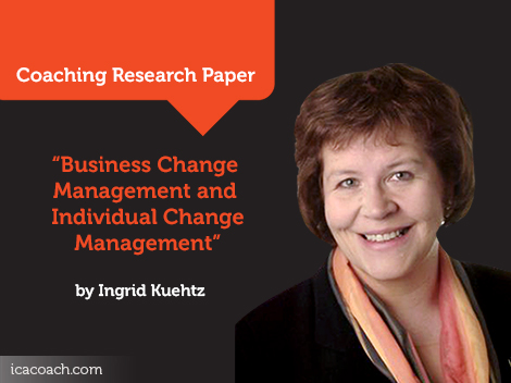 Business Change Management and Individual Change Management