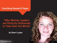 Research Paper: Why Women Leaders are Perfectly Positioned to Take Over the World