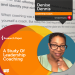 Research Paper: A Study of Leadership Coaching