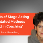 Research Paper: Aspects of Stage Acting Orientated Methods used in Coaching