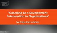 Research Paper: Coaching as a Development Intervention in Organizations