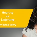 Power Tool: Hearing vs. Listening