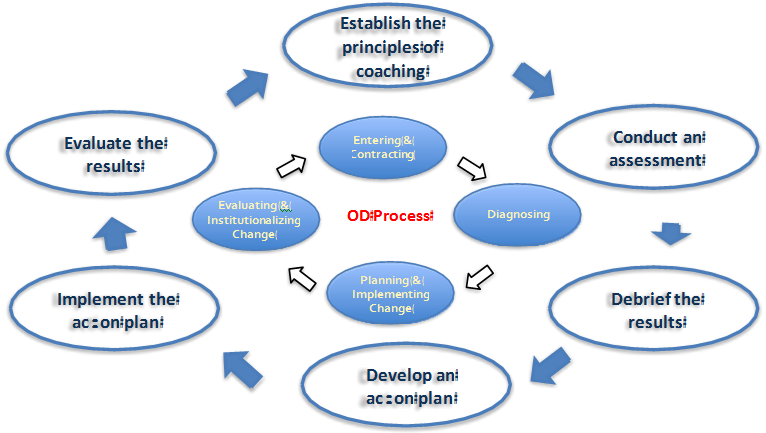 coaching as an od intervention Identify advanced od practices in systems thinking, analysis, coaching,  measurement,  and proficiency as an od consultant (complete 2-3 client  interventions).