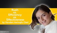 Power Tool: Rush vs. Efficiency vs. Effectiveness