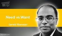 Power Tool: Need vs. Want
