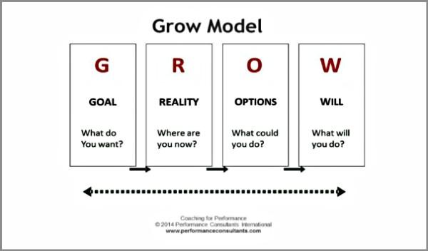 Coaching Model The E Grow