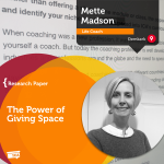 Coaching Case Study: The Power of Giving Space