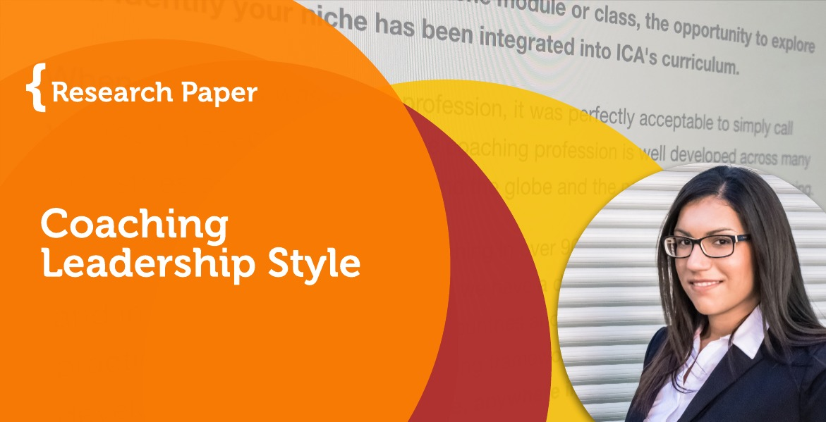Research Paper: Coaching Leadership Style -