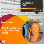 Research Paper: The Importance of Establishing Trust