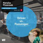 Power Tool: Driver vs. Passenger