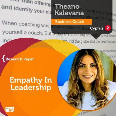 Empathy In Leadership Theano Kalavana_Coaching_Research_Paper