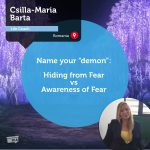 "Power Tool: Name your ""demon"": Hiding from fear vs awareness of fear"