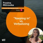 "Power Tool: ""Keeping in"" vs. Verbalizing"