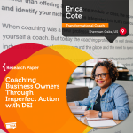 Research Paper: Coaching Business Owners Through Imperfect Action with DEI