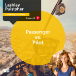 Power Tool: Passenger vs. Pilot