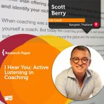 Research Paper: I Hear You: Active Listening in Coaching