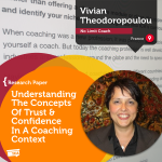 Research Paper: Understanding The Concepts Of Trust & Confidence In A Coaching Context