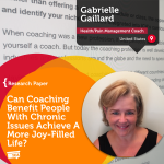 Research Paper: Can Coaching Benefit People With Chronic Issues Achieve A More Joy-Filled Life?