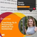 Research Paper: Coaching As A Prevention Method For Existential Crises